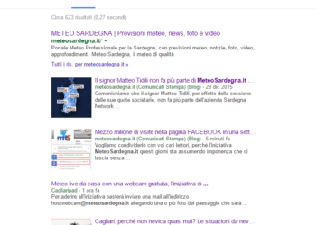 Esito ricerca Google News