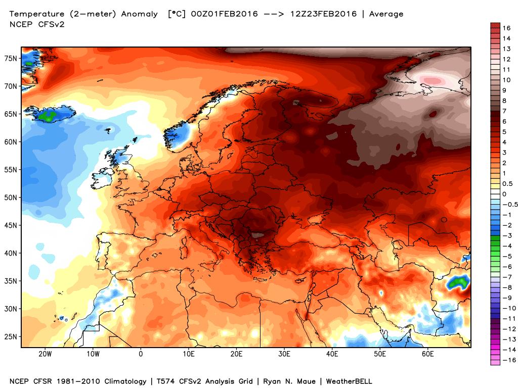 Febbraio, è caldo da incubo: farà peggio di gennaio?