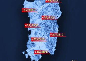 Temperature 3 350x250 - Sardegna, a Natale temperature fino a 20°C