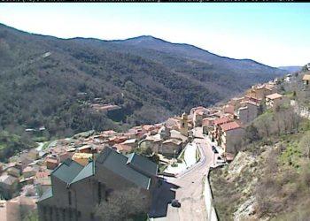 Desulo è stata una delle località più piovose del mese di marzo. Fonte webcam http://www.desulometeo.altervista.org
