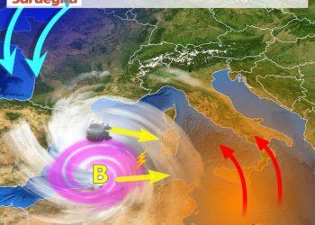 sardegna tendenza meteo aprile 1 350x250 - Mediterraneo troppo caldo: saremo a rischio temporali estremi