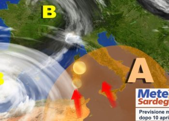 sardegna meteo dopo 10 aprile tendenza 350x250 - Meteo 7 giorni, inverno soffocato dall'anticiclone. Sole e rialzo termico