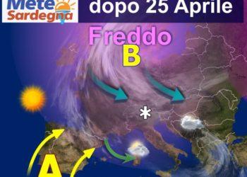 sardegna meteo fine aprile primavera 1 350x250 - Meteo 7 giorni, inverno soffocato dall'anticiclone. Sole e rialzo termico