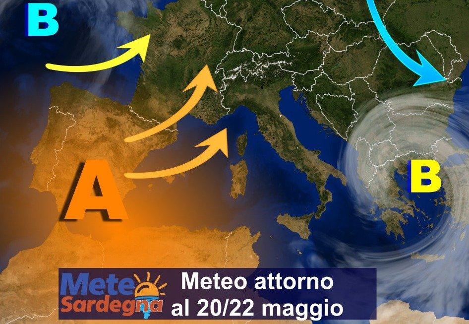 sardegna meteo maggio terza decade caldo estate - Evoluzione meteo, cavalcata verso l'estate: caldo in arrivo dal 20 maggio