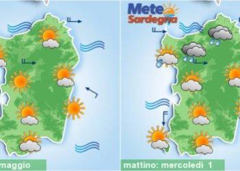 sardegna meteo settimana fine maggio inizio giugno 350x250 - Meteo 7 giorni, inverno soffocato dall'anticiclone. Sole e rialzo termico