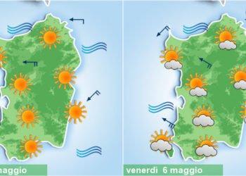 sardegna sole poi peggioramento meteo 350x250 - Meteo 7 giorni, inverno soffocato dall'anticiclone. Sole e rialzo termico