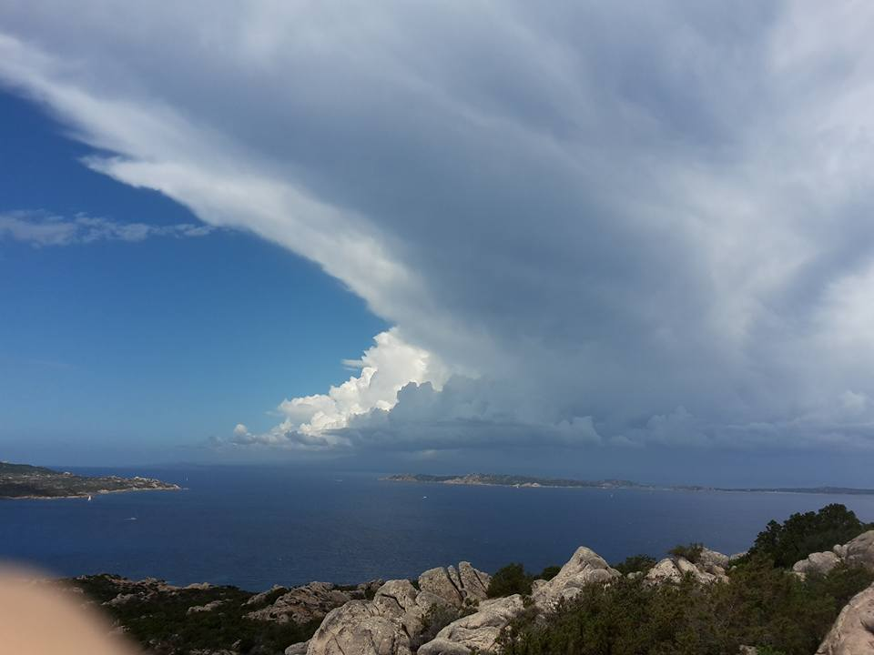 La Maddalena verso Corsica