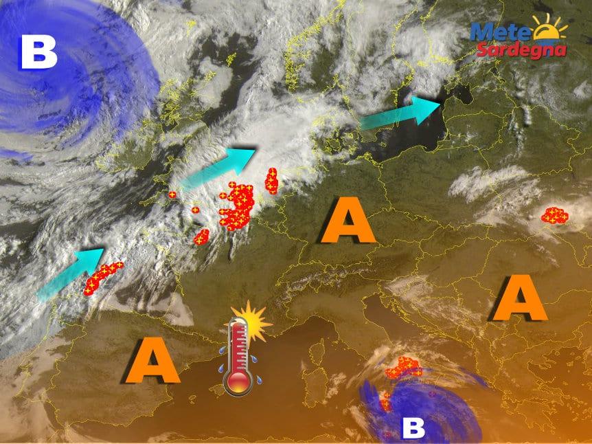 Meteosat 14 - Esplode l'estate