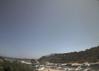 Il porticciolo turistico di Costa Corallina. Fonte webcam ornero.it