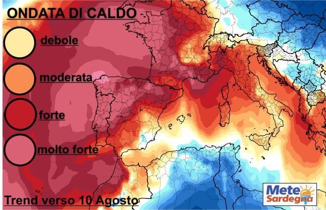 caldo agosto