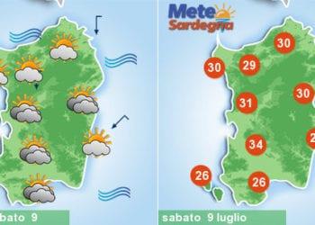 sardegna meteo caldo weekend luglio estate 350x250 - Clou del caldo africano, ma sarà grande svolta meteo la prossima settimana