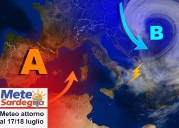 sardegna meteo tendenza luglio break estate 350x250 - Improvviso temporale non previsto? Solo gli effetti di un gigantesco incendio. Immagini impressionanti