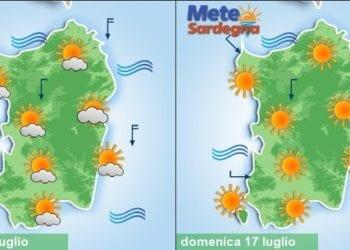 sardegna meteo weekend ritorna estate caldo 350x250 - Piogge, temporali, fresco e vento, poi meteo migliora da martedì