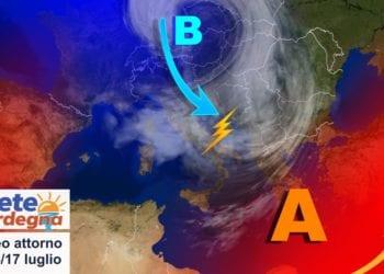 sardegna tendenza meteo luglio estate 350x250 - Clou del caldo africano, ma sarà grande svolta meteo la prossima settimana