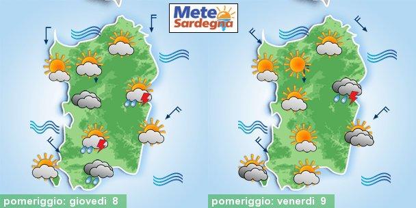 meteo sardegna previsioni 1