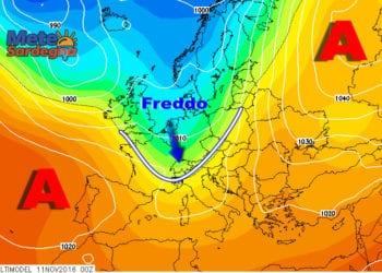 Le proiezioni per l'ultima decade di novembre indicherebbero un possibile ritorno del freddo.