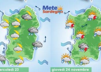 Mercoledì sera prime piogge a est, giovedì maltempo.