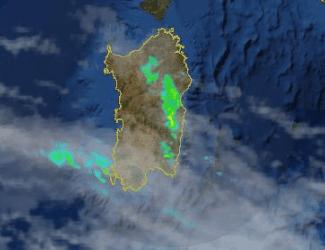 Image 4 325x250 - Arrivano piogge su Sardegna occidentale