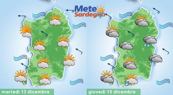 Domani tempo ancora buono, giovedì si rivedrà qualche pioggia a est.