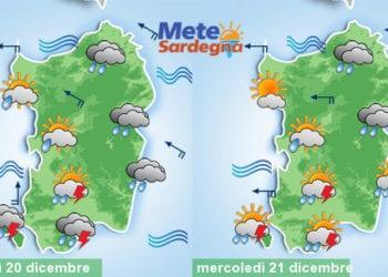 Tra oggi e domani ancora tante piogge.