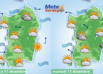 Il meteo di domenica e di inizio settimana.