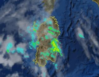 Radar 1 320x250 - Peggiora forte: alcune zone già sotto i temporali