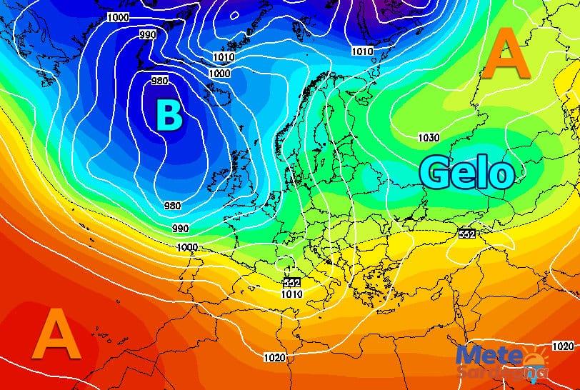Inizio febbraio in compagnia delle perturbazione atlantiche?