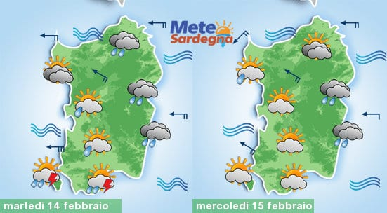 Peggioramento meteo tra martedì e mercoledì