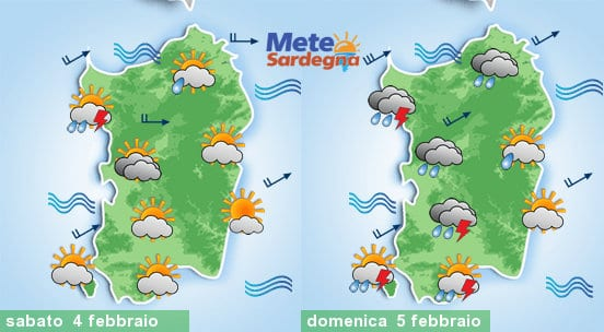 Meteo weekend.