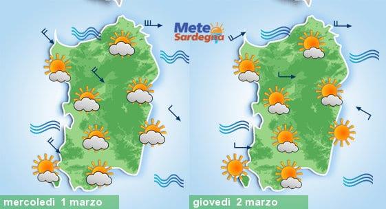 Domani ancora un po' di nubi sparse, giovedì bel tempo e temperature in rialzo.
