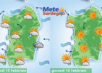 Domani ancora qualche goccia di pioggia, giovedì bel tempo.