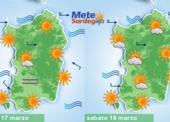 Meteo Sardegna 1 1 350x250 - Meteo, nuovo tepore da piena primavera. Alcuni giorni di sole, poi peggiora