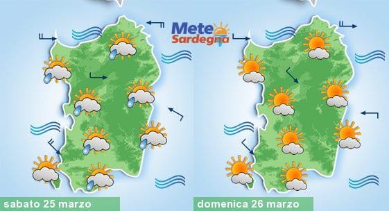 Confermiamo piogge sabato, mentre domenica meteo in miglioramento.