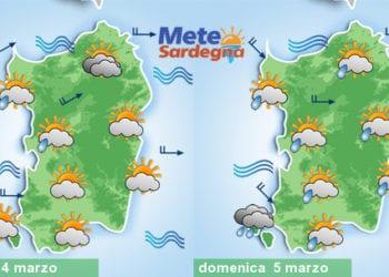 Domani prime piogge da ovest, domenica inizialmente maltempo. Poi migliora ma caleranno le temperature.