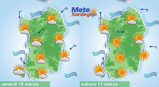 Domani e sabato bel tempo primaverile