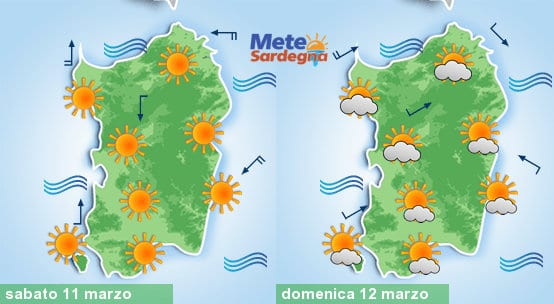 Meteo weekend all'insegna dell'Alta Pressione.