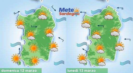 Domenica bel tempo, ma avremo meteo primaverile anche la prossima settimana.