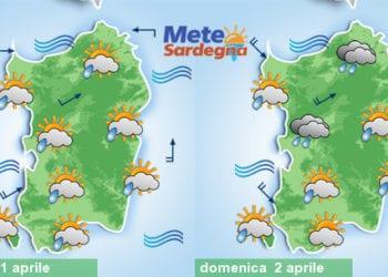 Confermiamo un peggioramento dal pomeriggio di oggi, con piogge anche domenica.