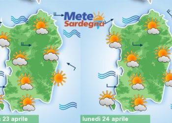 Weekend e ponte del 25 aprile all'insegna del tempo stabile soleggiato. Clima mite