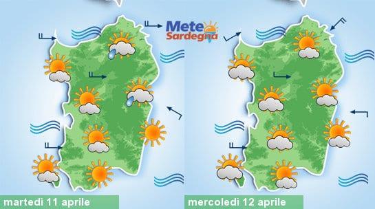 Settimana Santa caratterizzata da condizioni di bel tempo, eccezion fatta per qualche insidia sul Nordest dell'Isola nel corso delle prossime 24 ore.