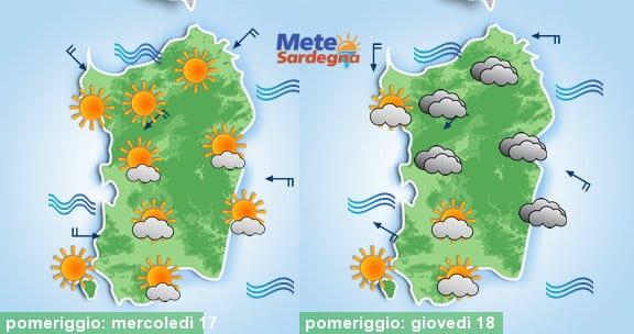 Il tempo si manterrà estivo, con qualche nube in più nella giornata di giovedì.