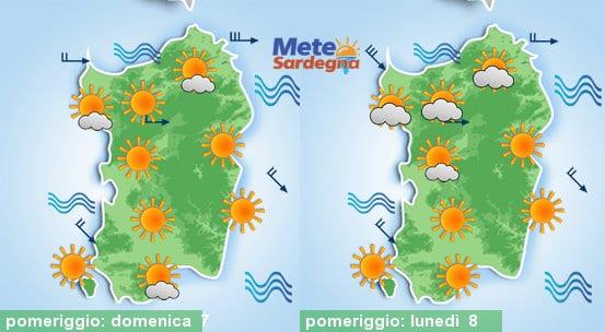 Domenica e lunedì bel tempo, ma andrà via il caldo.