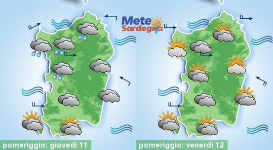 Arriva il caldo! Oggi e domani clima estivo.