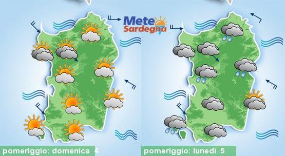 Domenica qualche nube sparsa, lunedì possibile peggioramento meteo.