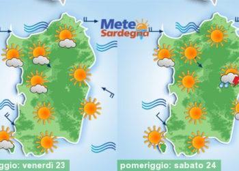 Meteo sardegna 16 350x250 - Sempre più caldo: inizio settimana prossima 40°C