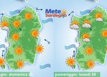Inizio settimana prossima, clima rovente con punte di oltre 40°C.