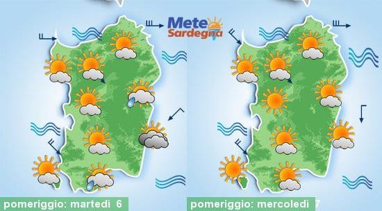 Oggi qualche pioggia residua, da domani miglioramento e nel weekend super caldo.