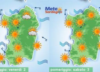 Si profila un weekend all'insegna del bel tempo estivo. Poi avremo un significativo cambiamento.