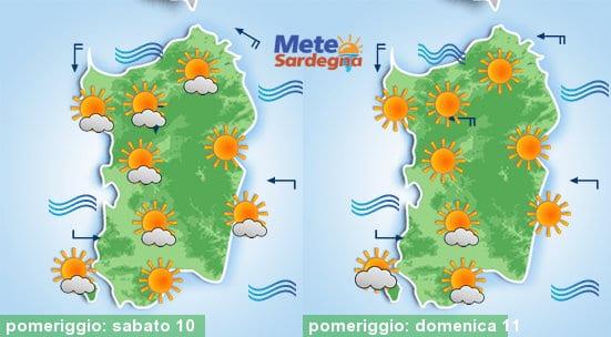 Si prospetta uno splendido fine settimana di sole e caldo d'estate.