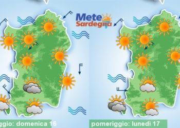 Temperature ancora più giù tra domenica e lunedì.